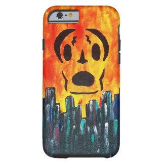 Localmusicplay.com Frankin Skull, Fire City Tough iPhone 6 Case