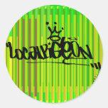 Localpigeon Classic Round Sticker