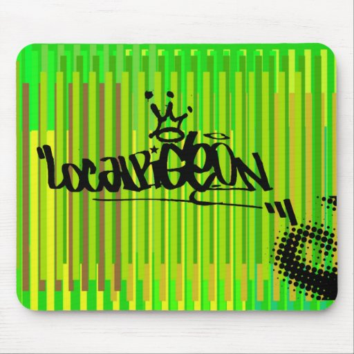 Localpigeon green mousemat