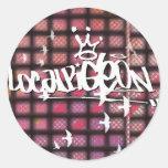 Localpigeon Round Sticker