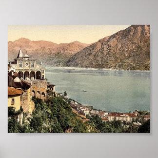 Locarno, Madonna del Sasso, Tessin, Switzerland vi Print