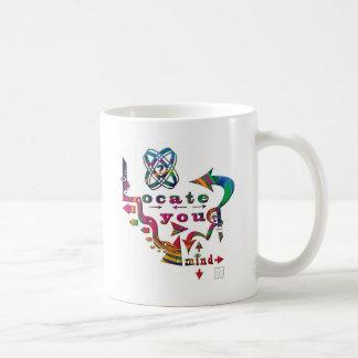 Locate Your Colorful Mind!! Basic White Mug