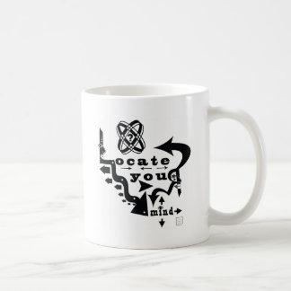 Locate Your Mind! Basic White Mug