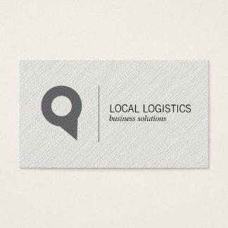 Location Icon | Logistics Business Card