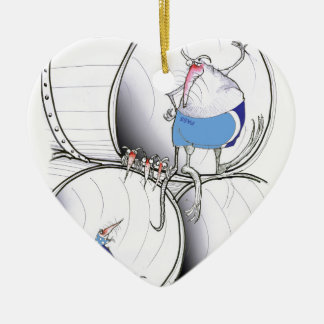 location location by tony fernandes ceramic heart decoration