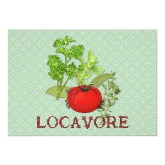 Locavore 13 Cm X 18 Cm Invitation Card
