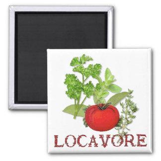 Locavore Square Magnet