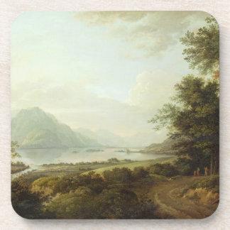 Loch Awe, Argyllshire, c.1780-1800 (oil on canvas) Coaster