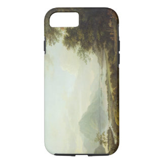 Loch Awe, Argyllshire, c.1780-1800 (oil on canvas) iPhone 8/7 Case