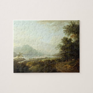 Loch Awe, Argyllshire, c.1780-1800 (oil on canvas) Jigsaw Puzzle