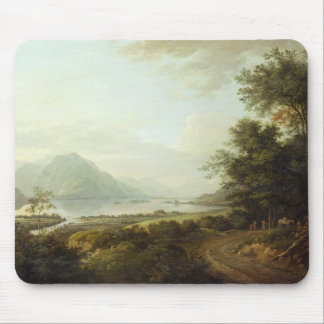 Loch Awe, Argyllshire, c.1780-1800 (oil on canvas) Mouse Mat