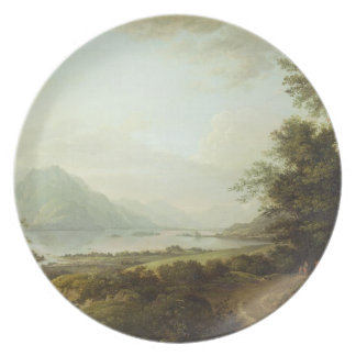 Loch Awe, Argyllshire, c.1780-1800 (oil on canvas) Plate
