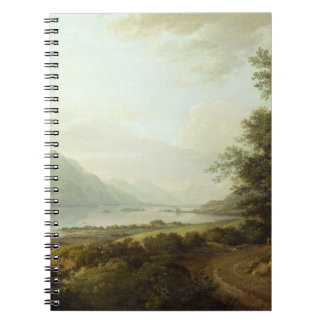 Loch Awe, Argyllshire, c.1780-1800 (oil on canvas) Spiral Notebook