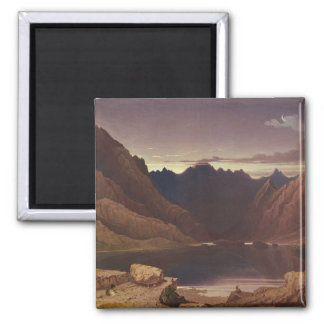 Loch Coruisk, Isle of Skye - Dawn, c.1826-32 (w/c Square Magnet