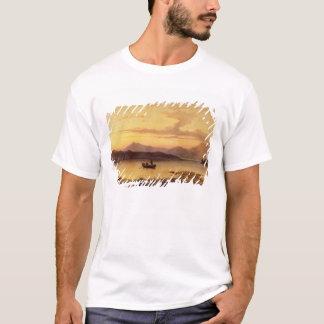 Loch Etive, from Bonawe - Evening, 1875 (oil on ca T-Shirt
