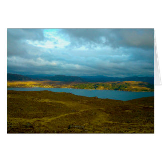 Loch Kishorn in the Evening Sun Greeting Card