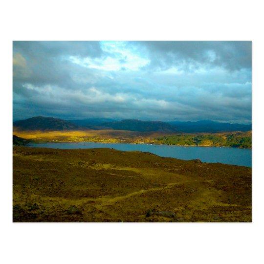 Loch Kishorn in the Evening Sun Postcard