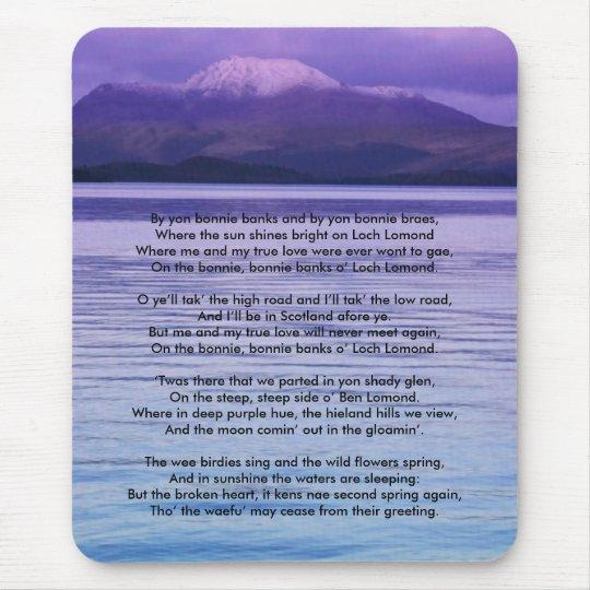 Loch Lomond By yon bonnie banks Mouse Mat