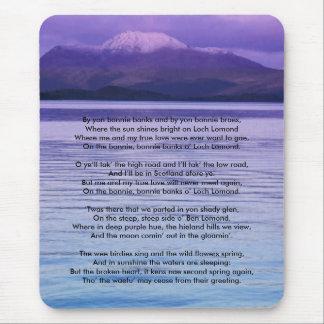 Loch Lomond By yon bonnie banks Mouse Pad