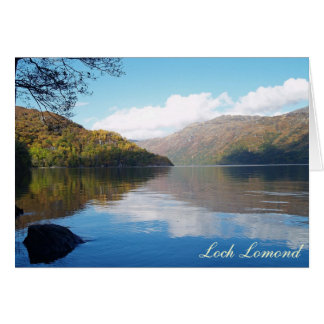Loch Lomond Card