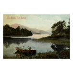 Loch Lomond, Scotland, Luss Straits 1915 Vintage Posters