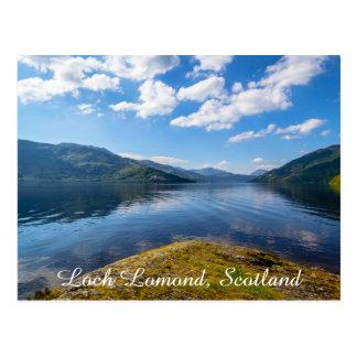 Loch Lomond, Scotland, nature postcard. Postcard