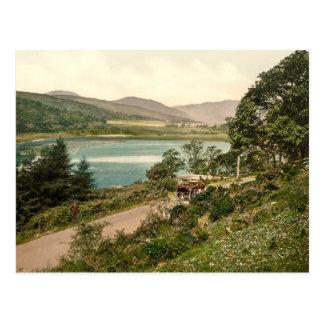 Loch Loskin, Dunoon, Scotland Postcard