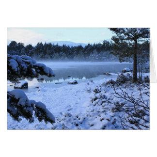 Loch Morlich Scotland Card