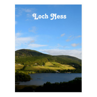 Loch Ness in Scotland Postcard