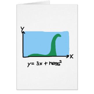 Loch Ness Maths Card
