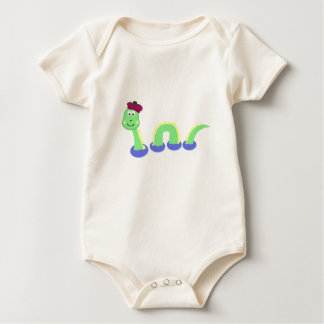 Loch Ness Monster Baby Bodysuit