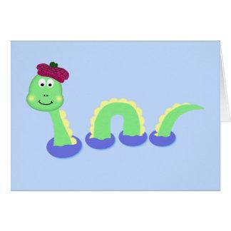 Loch Ness Monster Card