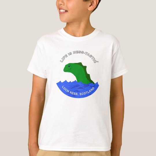 Loch Ness Monster goes tastic! T-Shirt