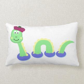 Loch Ness Monster Lumbar Cushion