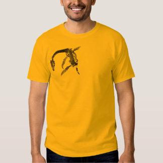Loch Ness Monster / Plesiosaur Fossil T-Shirt