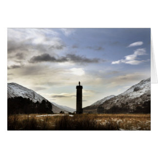 Loch Sheil, The Highlands. Card