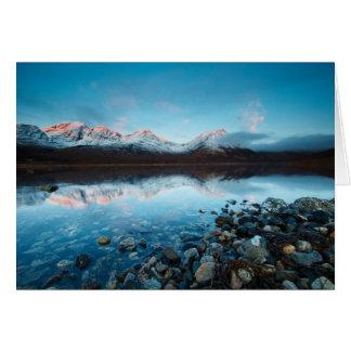 Loch Slapin, Isle of Skye, Scotland Greeting Card