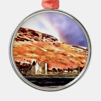 Lochranza Castle Christmas Ornament