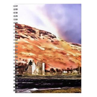 Lochranza Castle Notebooks