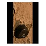 Lock Abandoned Door