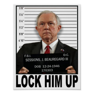 Lock Him Up - Sessions Poster