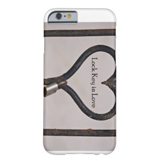 Lock Key in Love iPhone 6 Case Barely There iPhone 6 Case