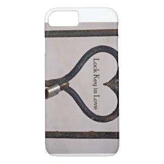 Lock Key in Love iPhone 7 Case