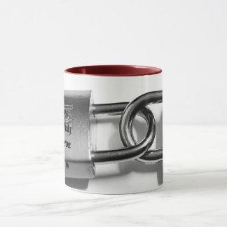 lock love infinity ,forever mug