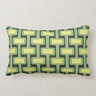 Lock n' Key Lime Lumbar Cushion