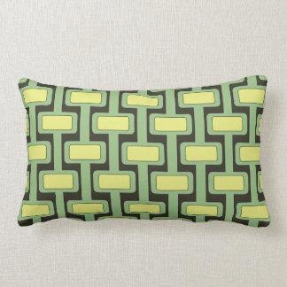 Lock n' Key Lime Lumbar Pillow