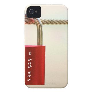 Lock of love iPhone 4 case