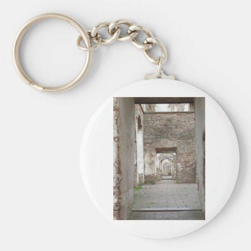 Lock ruin keychains