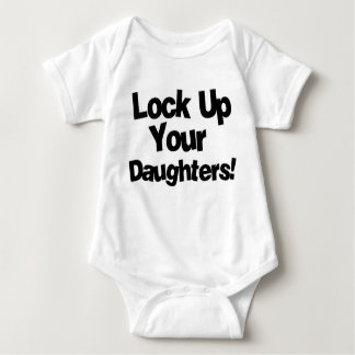 Lock Up Your Daughters Baby Bodysuit