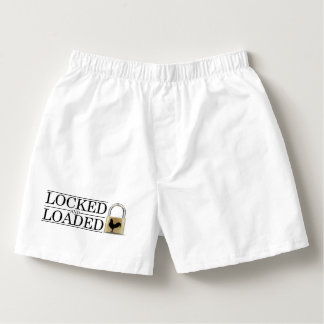 Locked and Loaded Chastity Boxers